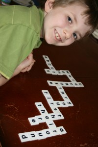 Fun with spelling words.