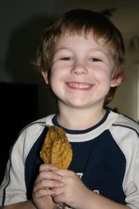 A cool leaf Benjamin found