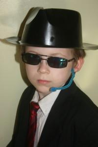 B as a Secret Agent
