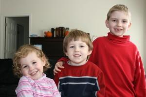 My 3 hams.