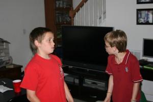 Baden and Joshua