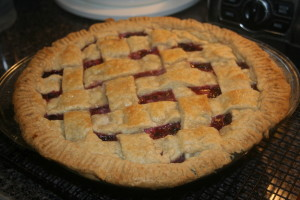 Dewberry Pie